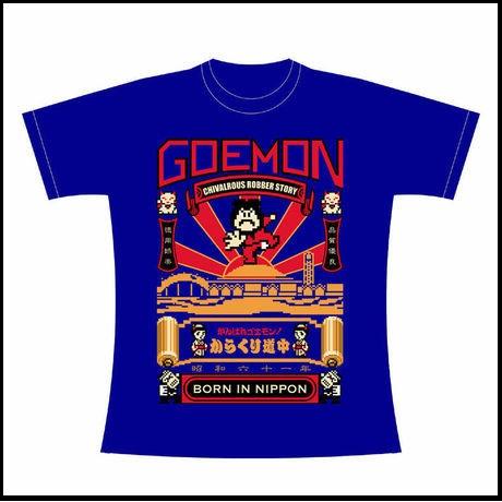 ファミコン がんばれゴエモン からくり道中 Tシャツ